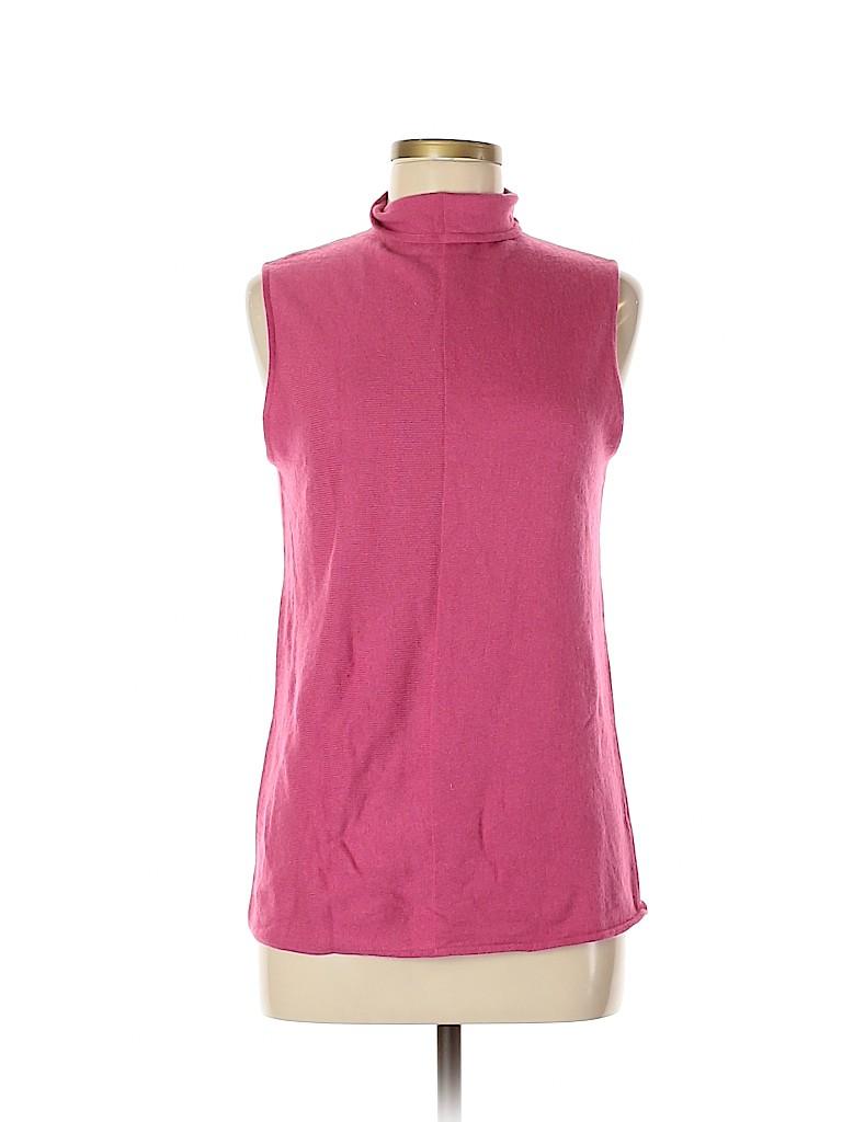 Jana Kos Women Silk Pullover Sweater Size M