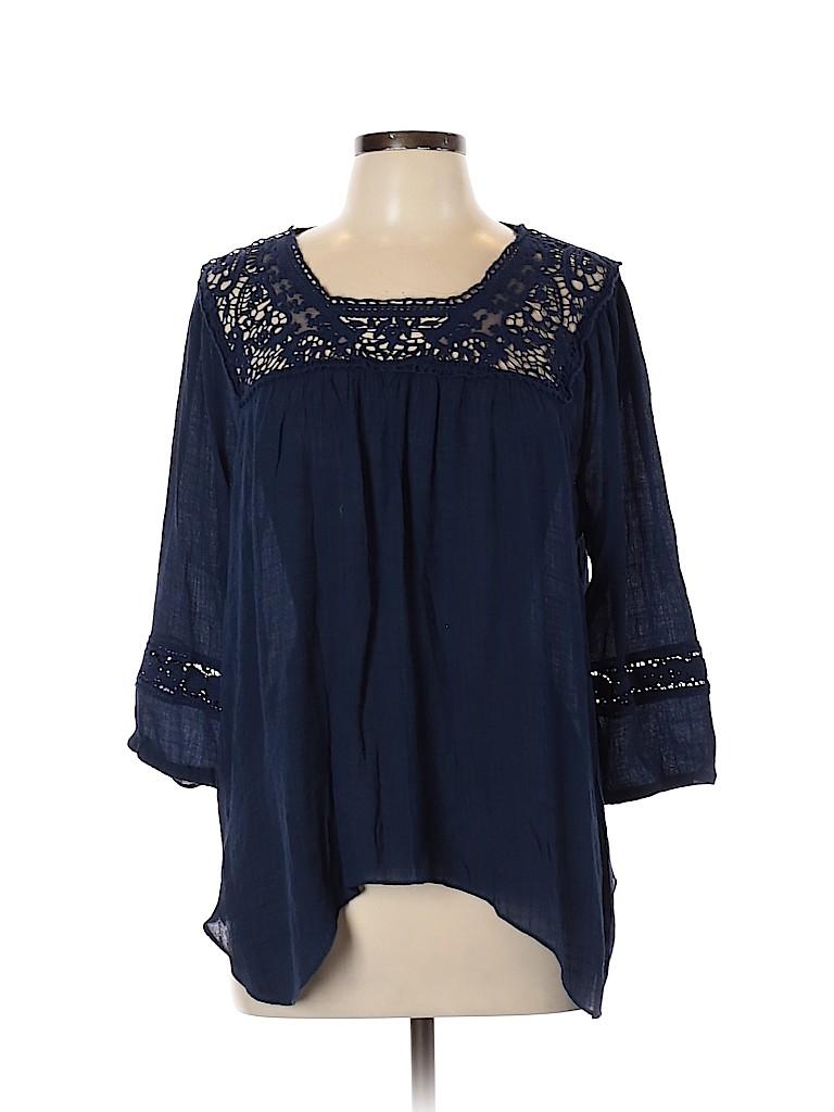 Rewind Women 3/4 Sleeve Top Size XL