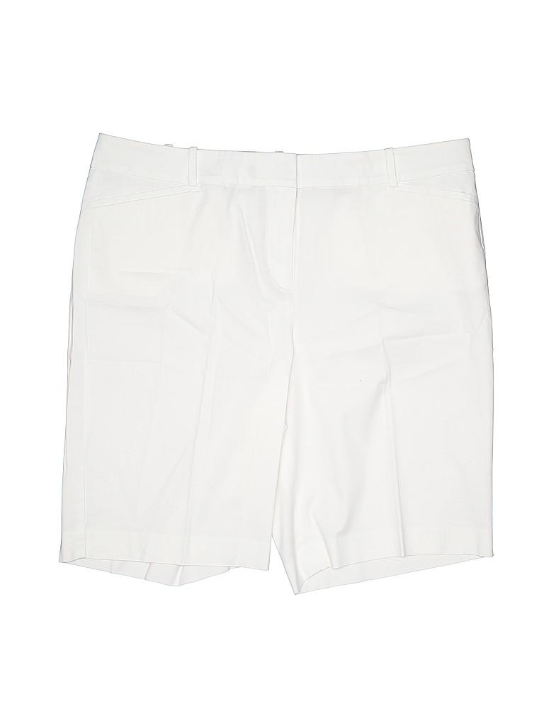 Talbots Women Khaki Shorts Size 16