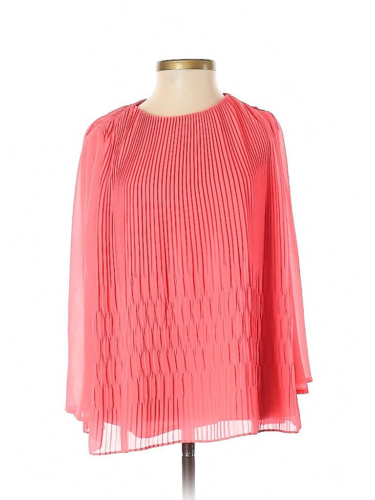 Ted Baker London Women Long Sleeve Blouse Size 2 (0)