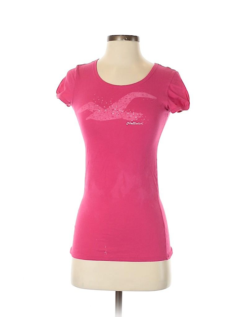 Hollister Women Short Sleeve T-Shirt Size M