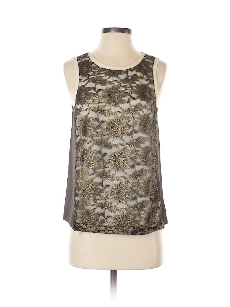 Chloe K Women Sleeveless Blouse Size S