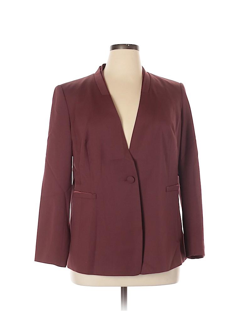 Lafayette 148 New York Women Blazer Size 14 (Plus)