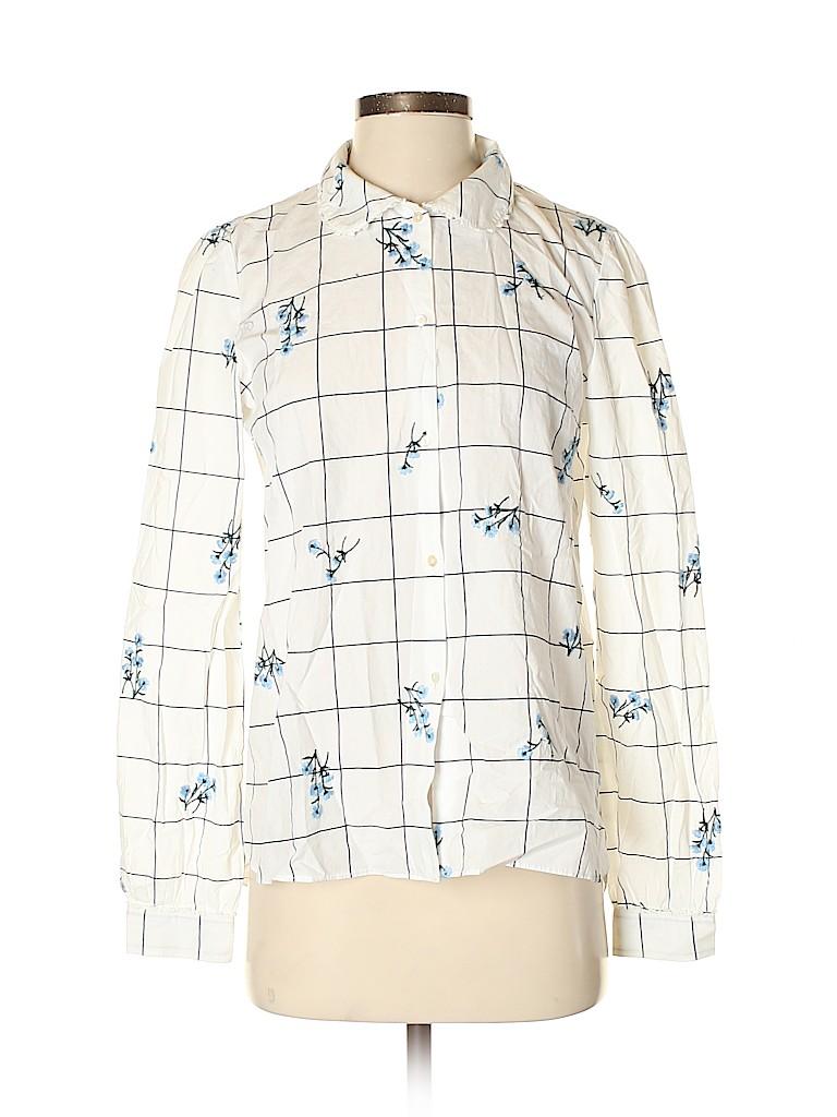 Trafaluc by Zara Women Long Sleeve Button-Down Shirt Size S