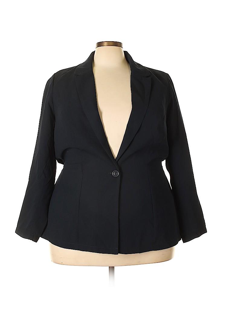 Just Fab Women Blazer Size 1X (Plus)