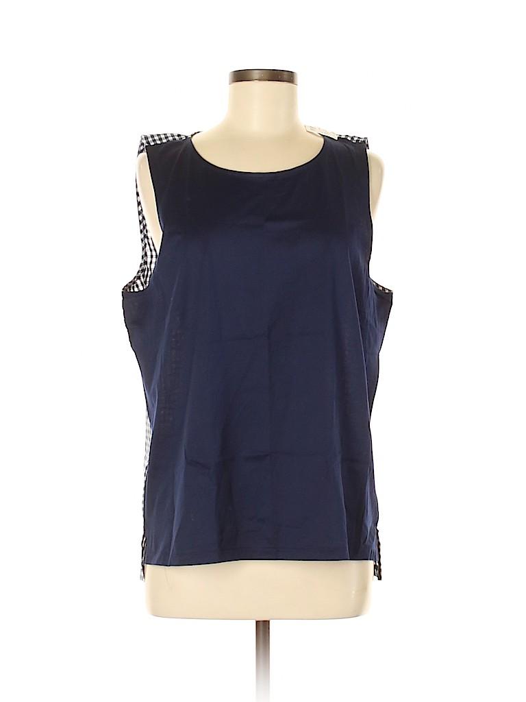J. Crew Women Sleeveless Blouse Size L
