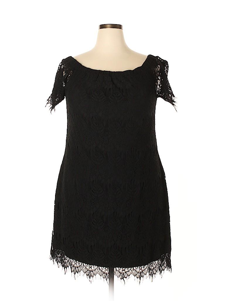 City Chic Women Casual Dress Size 16 (Plus)