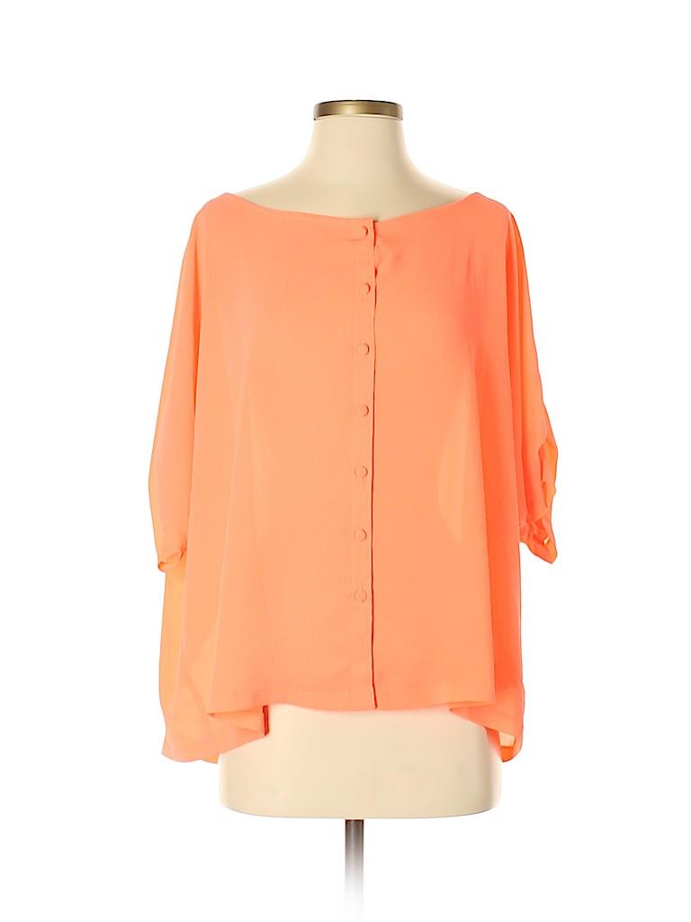 BB Dakota Women Short Sleeve Blouse Size S