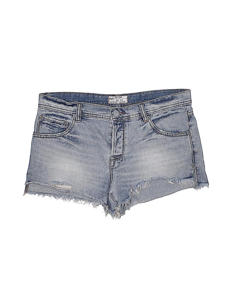 Free People Women Denim Shorts 29 Waist