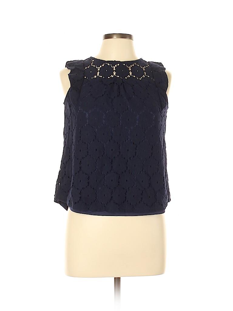 Monteau Women Sleeveless Blouse Size L