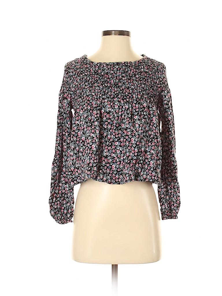 Mimi Chica Women Long Sleeve Blouse Size XS