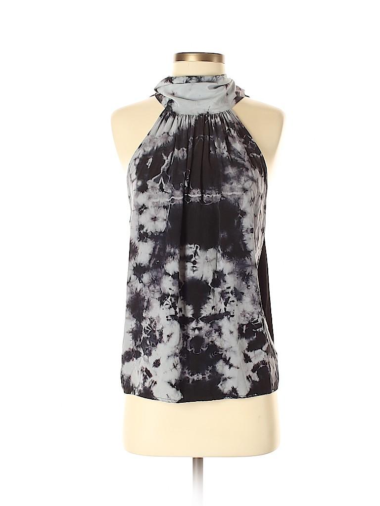 Feel The Piece Women Sleeveless Silk Top Size XS - Sm