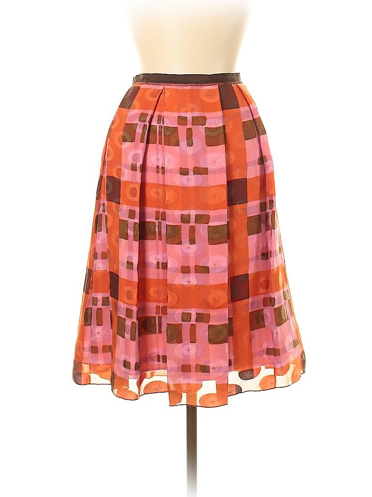 Anna Sui Women Silk Skirt Size 6