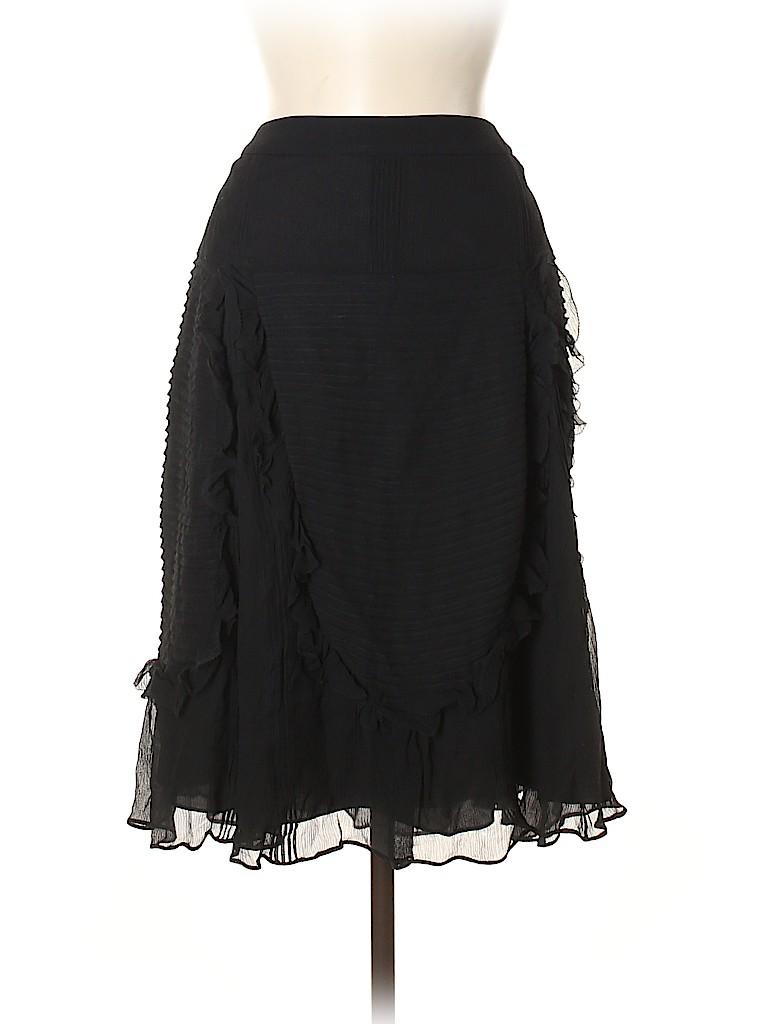 Kenzo Women Silk Skirt Size 40 (FR)