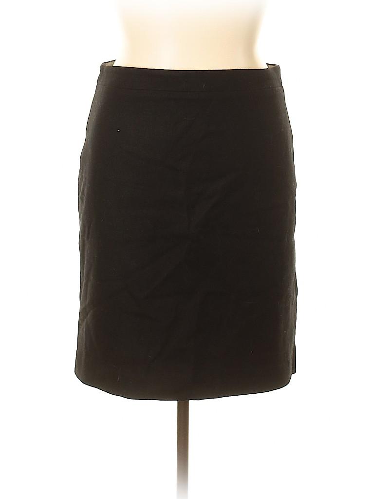 J. Crew Factory Store Women Wool Skirt Size 14