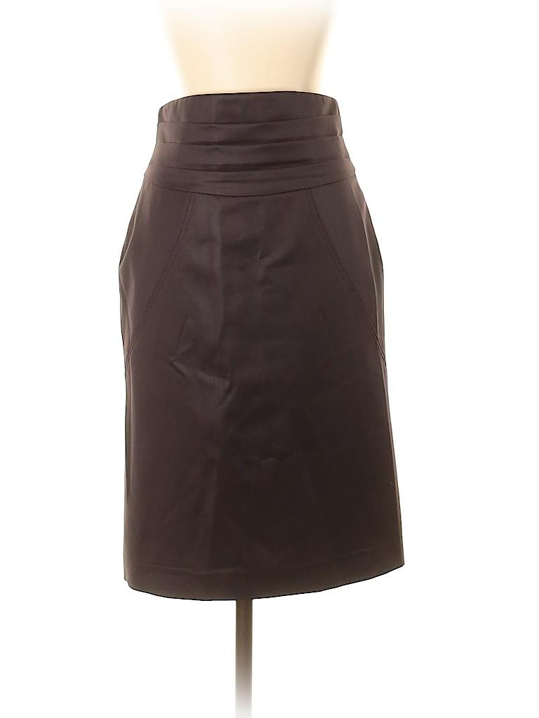 Zac Posen Women Wool Skirt Size 4