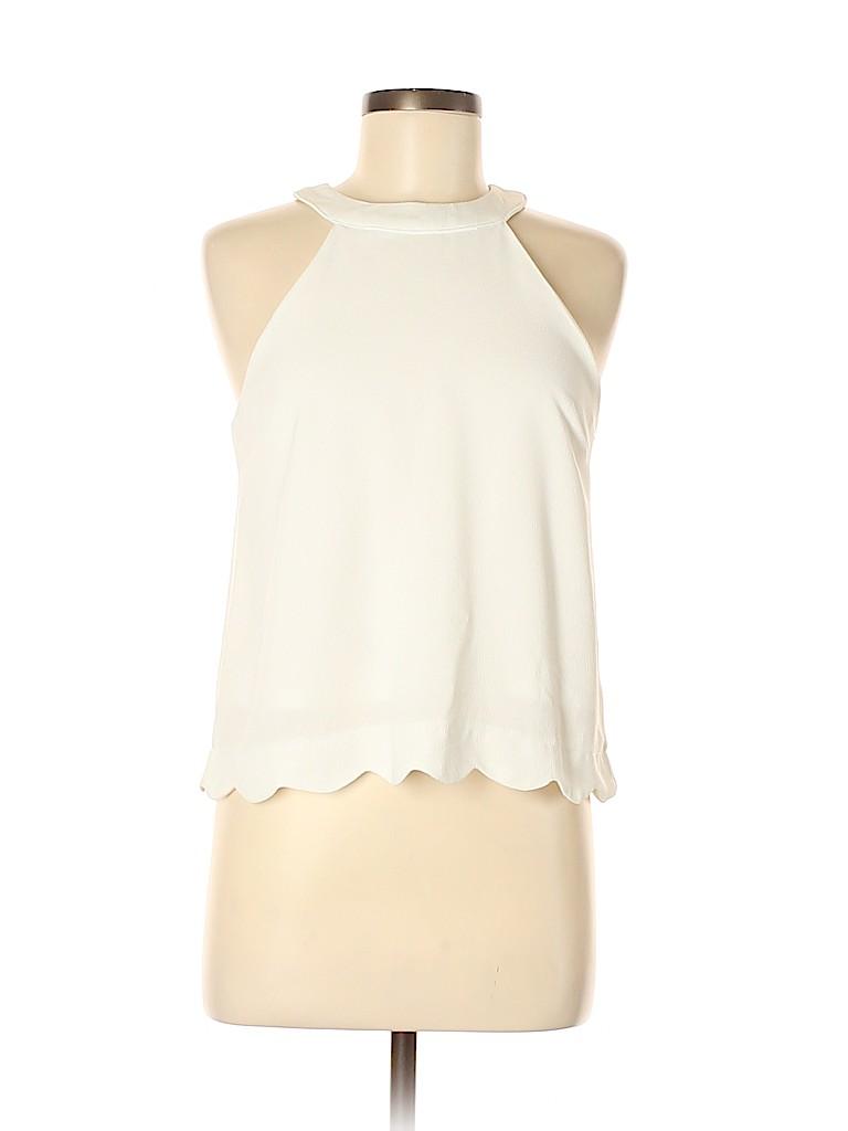 Monteau Women Sleeveless Blouse Size M