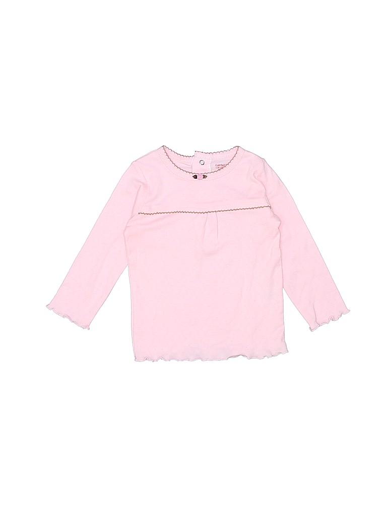 Carter's Girls Long Sleeve T-Shirt Size 9 mo