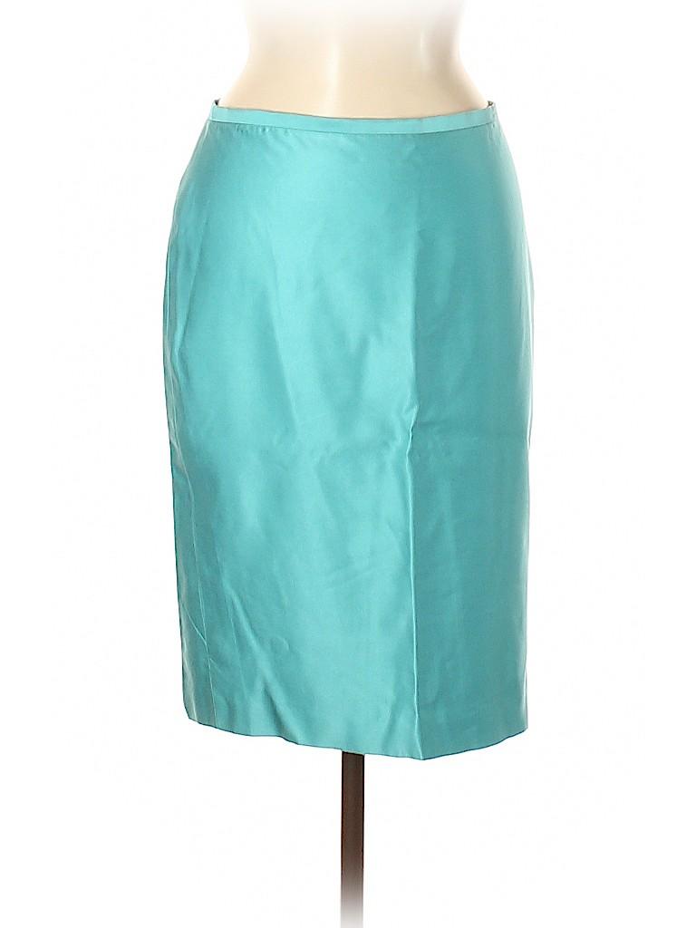 BCBGMAXAZRIA Women Silk Skirt Size 6