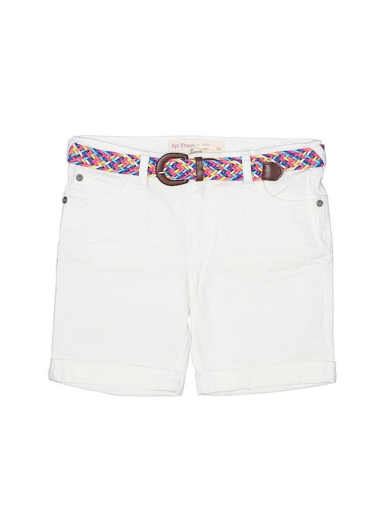 Epic Threads Girls Denim Shorts Size 14
