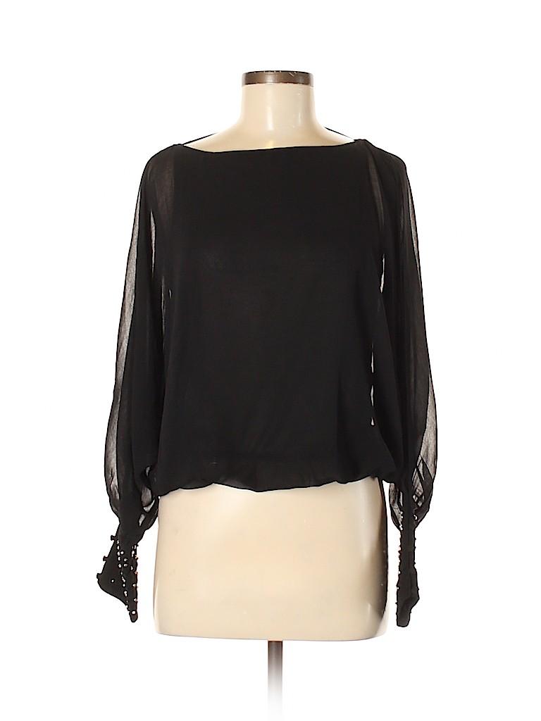 Do & Be Women Long Sleeve Blouse Size M
