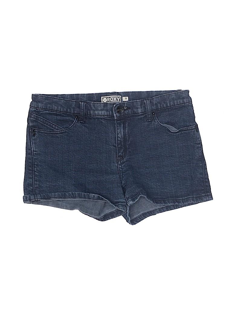 Roxy Women Denim Shorts Size 9