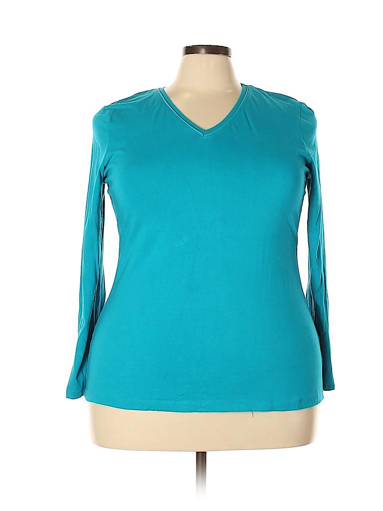 Avenue Women Long Sleeve T-Shirt Size 18 - 20 Plus (Plus)