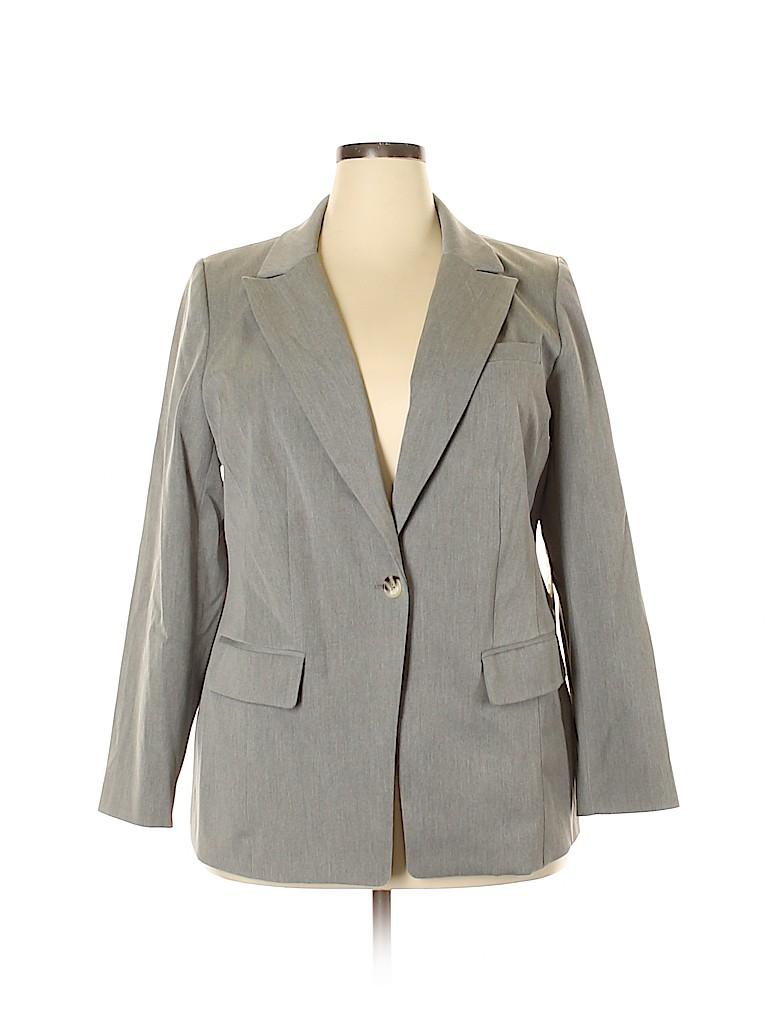 ELOQUII Women Blazer Size 16 (Plus)