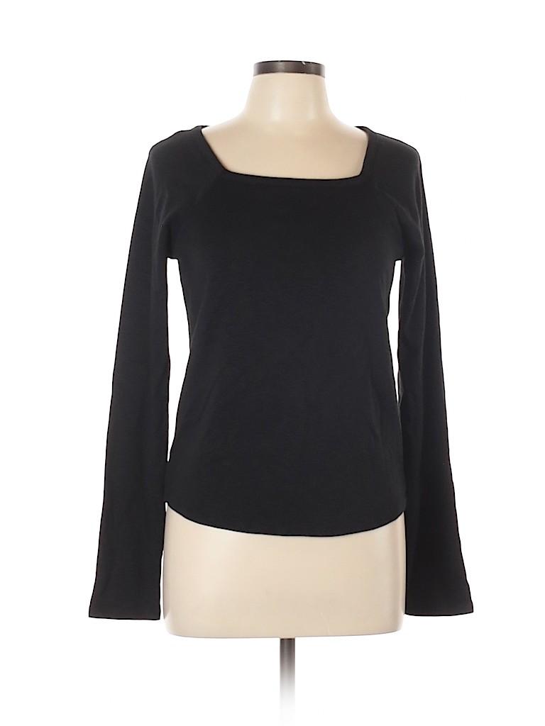 Madewell Women Long Sleeve T-Shirt Size L