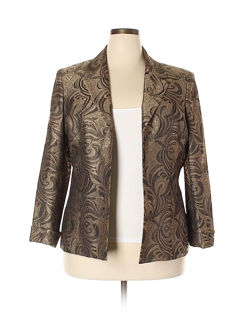 Kasper Women Jacket Size 18 (Plus)