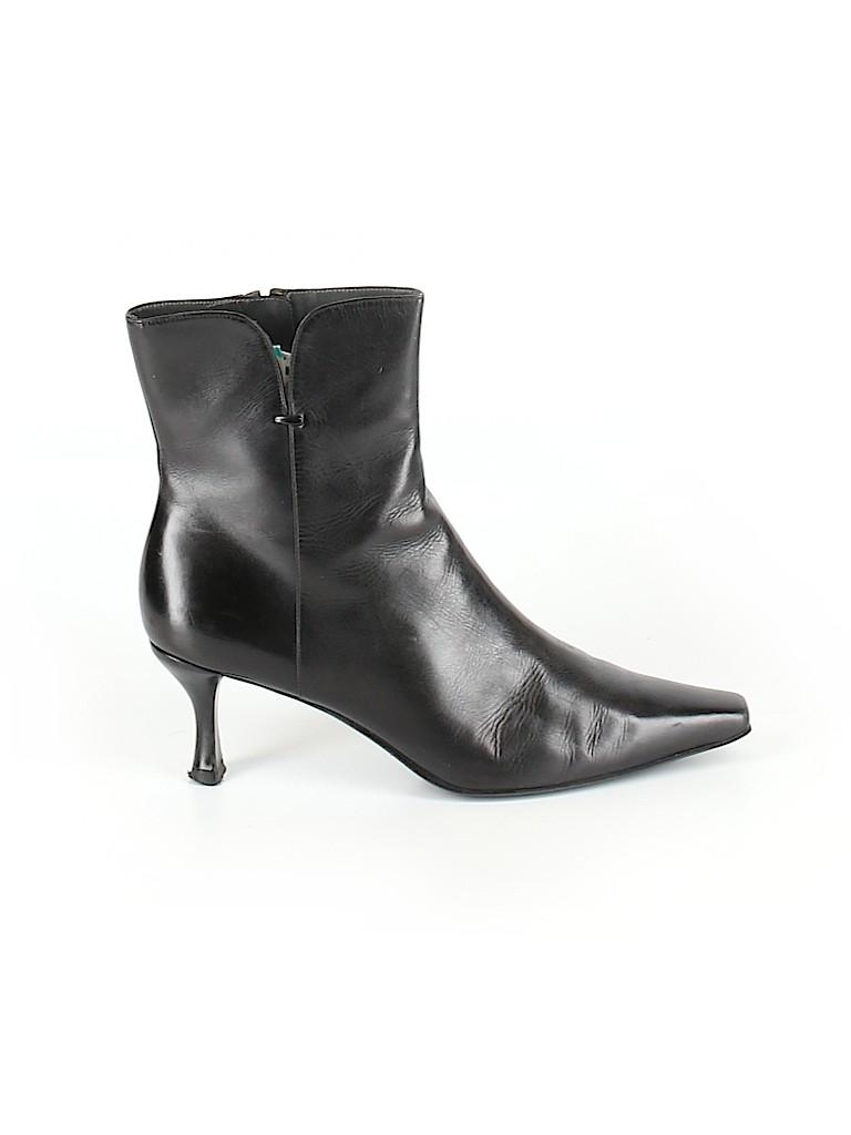 Stuart Weitzman Women Ankle Boots Size 7 1/2