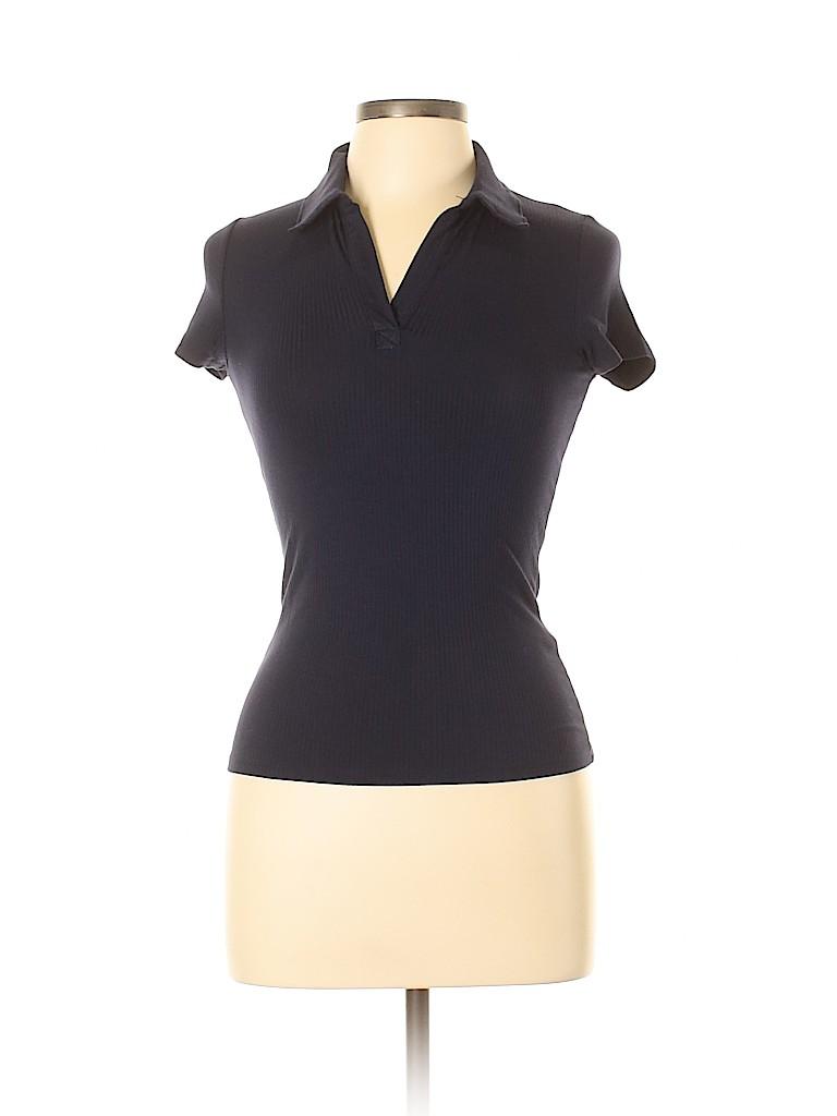 Hollister Women Short Sleeve Polo Size M