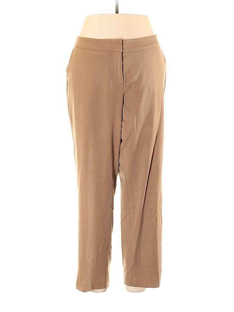 Investments II Women Dress Pants Size 16 (Plus)