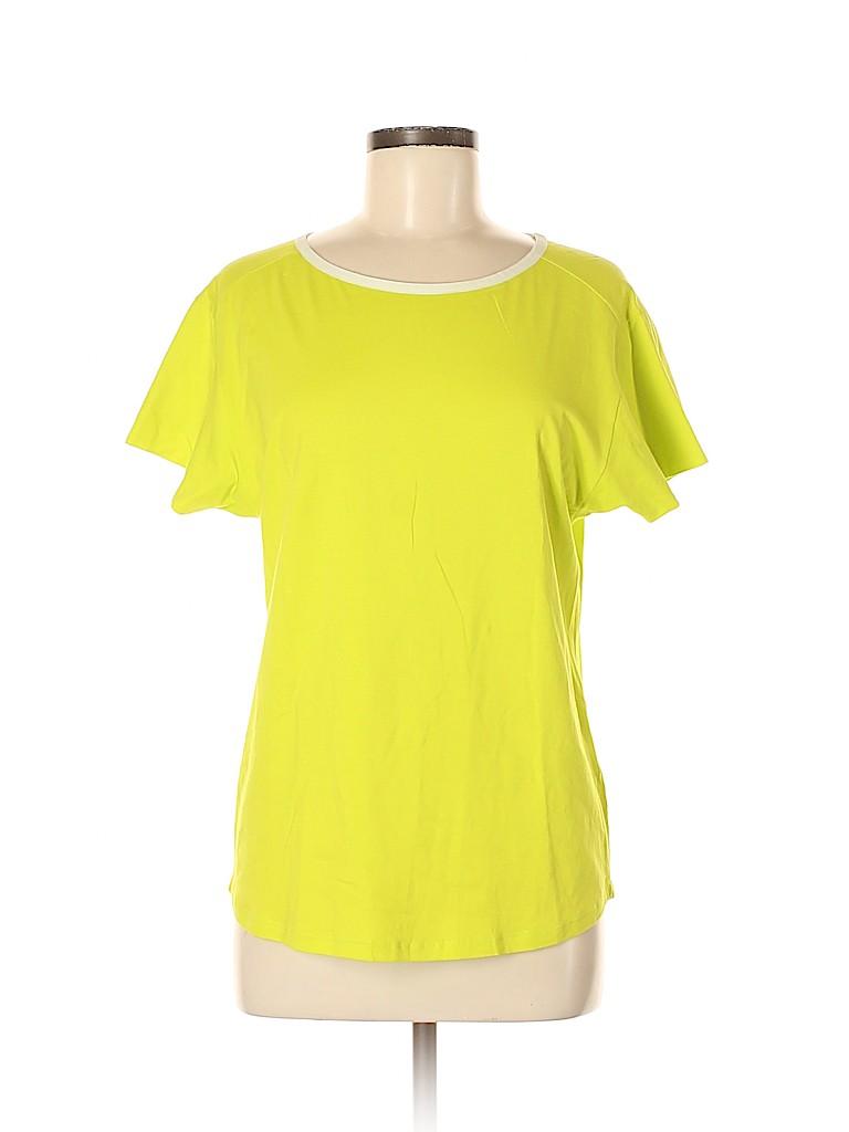 Piazza Sempione Women Short Sleeve T-Shirt Size 44 (IT)