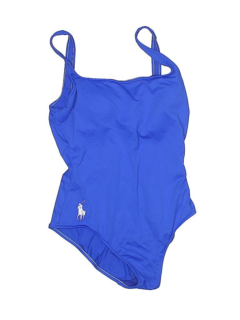 Polo by Ralph Lauren Women One Piece Swimsuit Size M