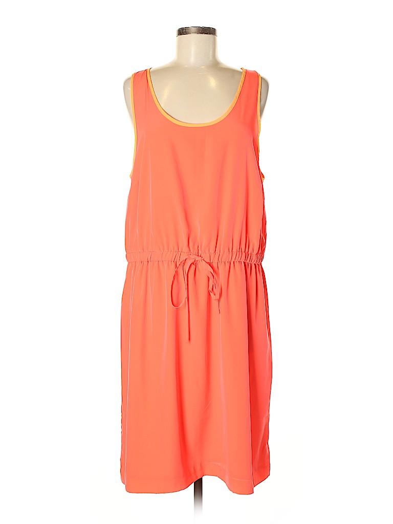 Gap Women Casual Dress Size L (Tall)