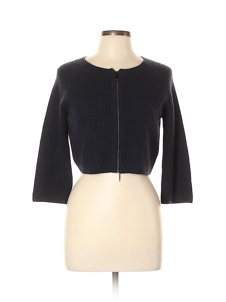 Max Mara Studio Women Silk Cardigan Size L