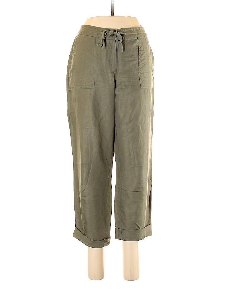 Talbots Women Linen Pants Size 8