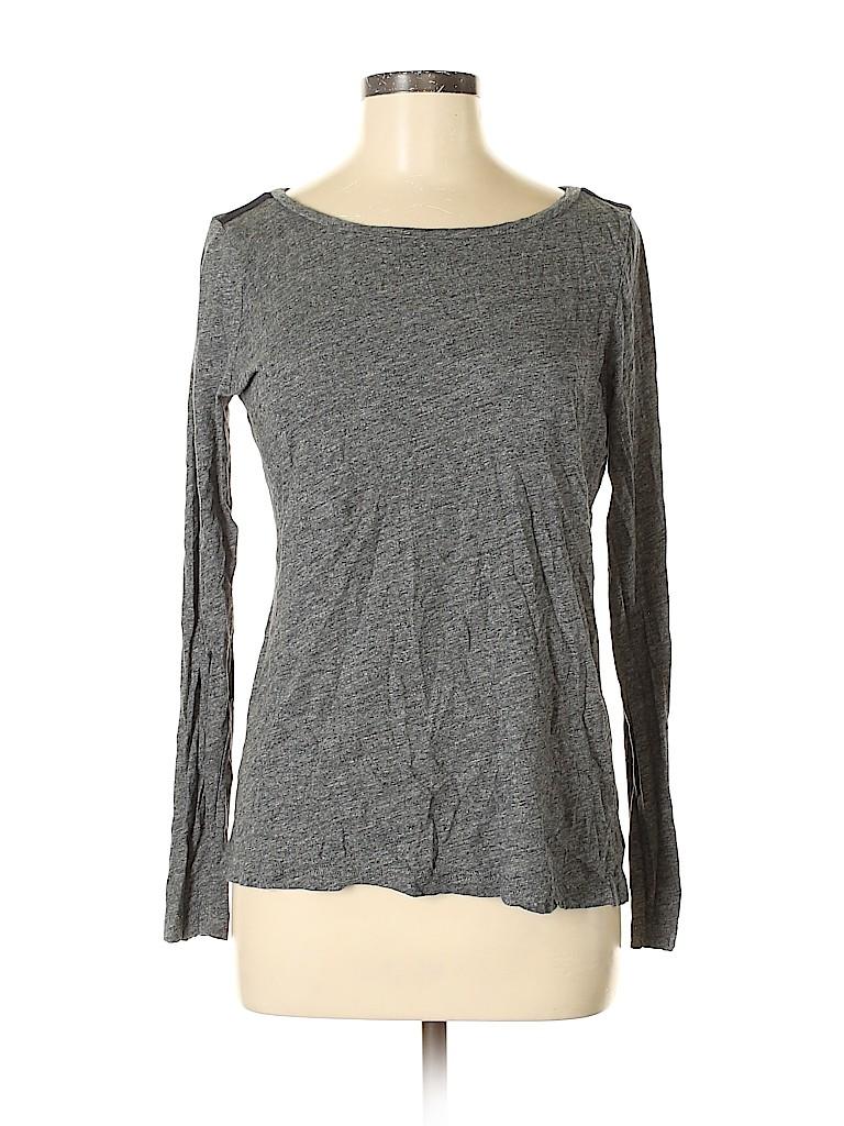 Madewell Women Long Sleeve T-Shirt Size M