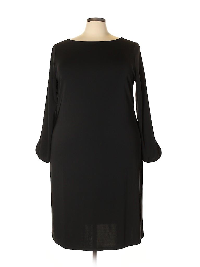 Talbots Women Casual Dress Size 3X (Plus)