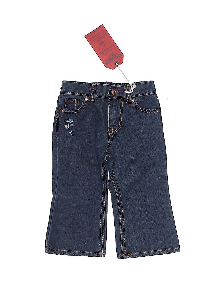 OshKosh B'gosh Girls Jeans Size 12 mo