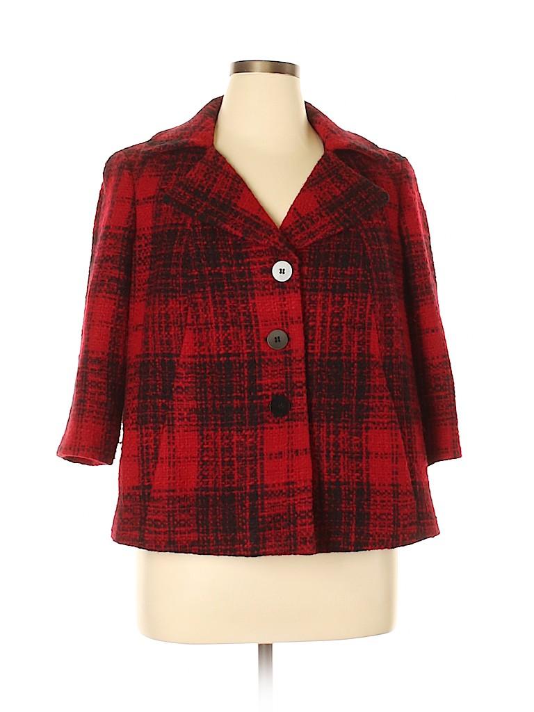 Talbots Women Wool Coat Size 16