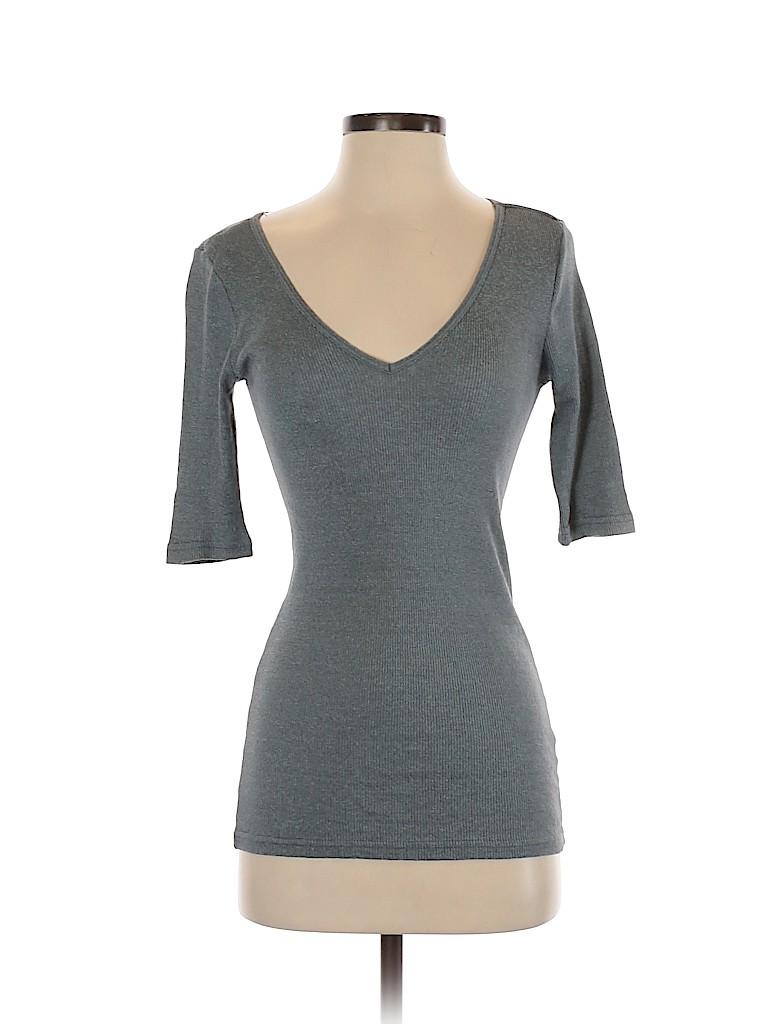 Michael Stars Women Short Sleeve Top One Size