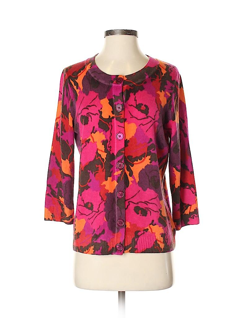 Talbots Women Cashmere Cardigan Size M