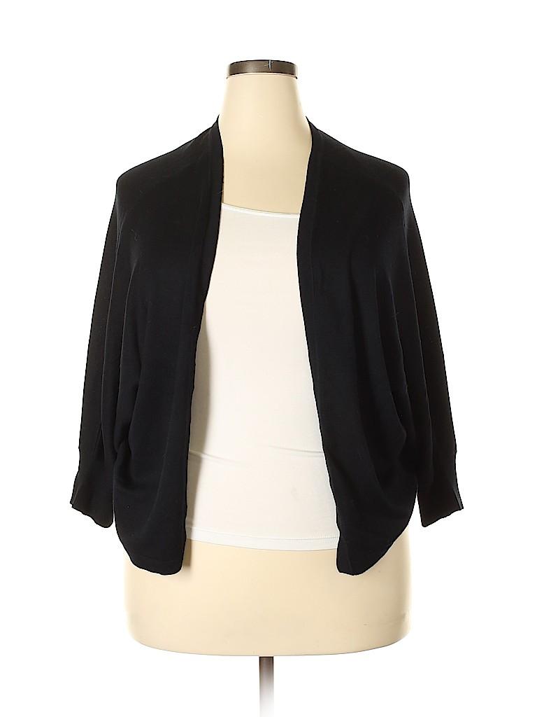 Lane Bryant Women Cardigan Size 28 - 26 Plus (Plus)