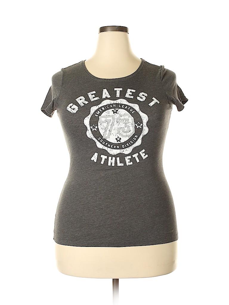 Bcg Women Short Sleeve T-Shirt Size XL