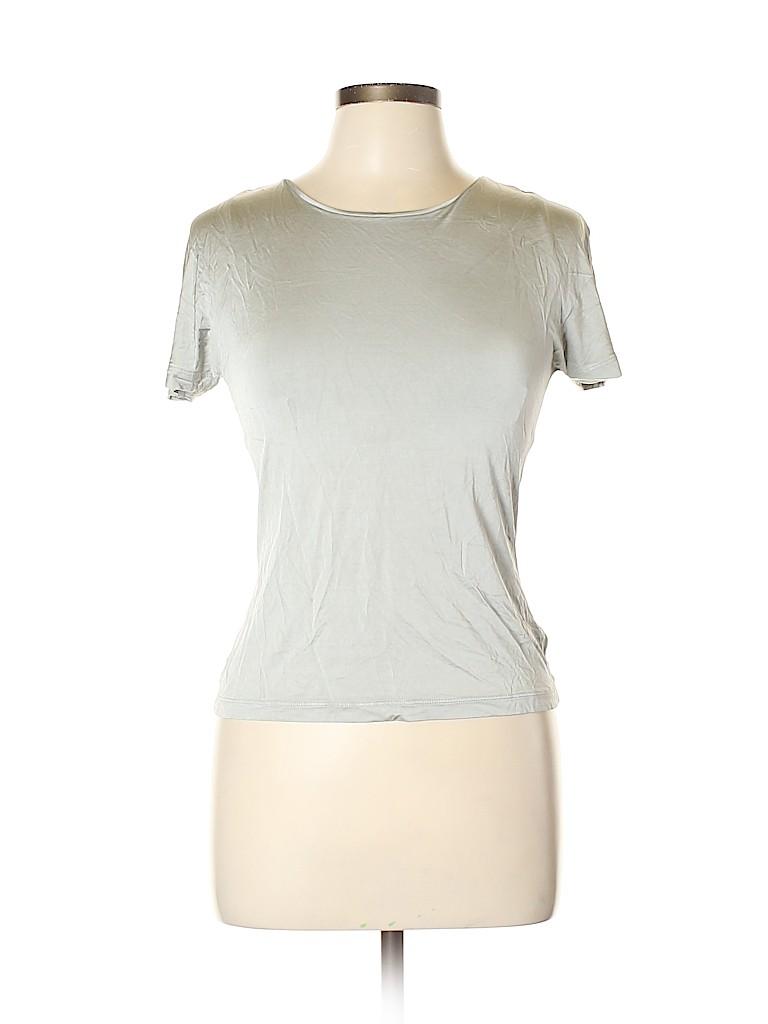 Max Mara Women Short Sleeve Top Size L