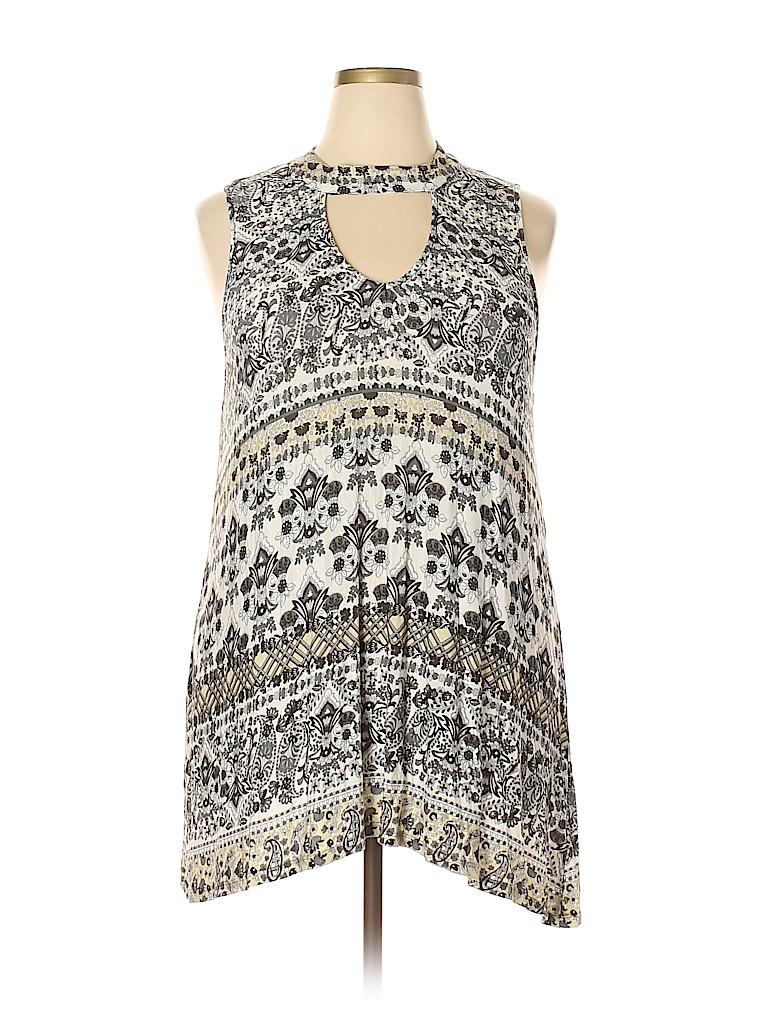 One World Women Casual Dress Size 3X (Plus)