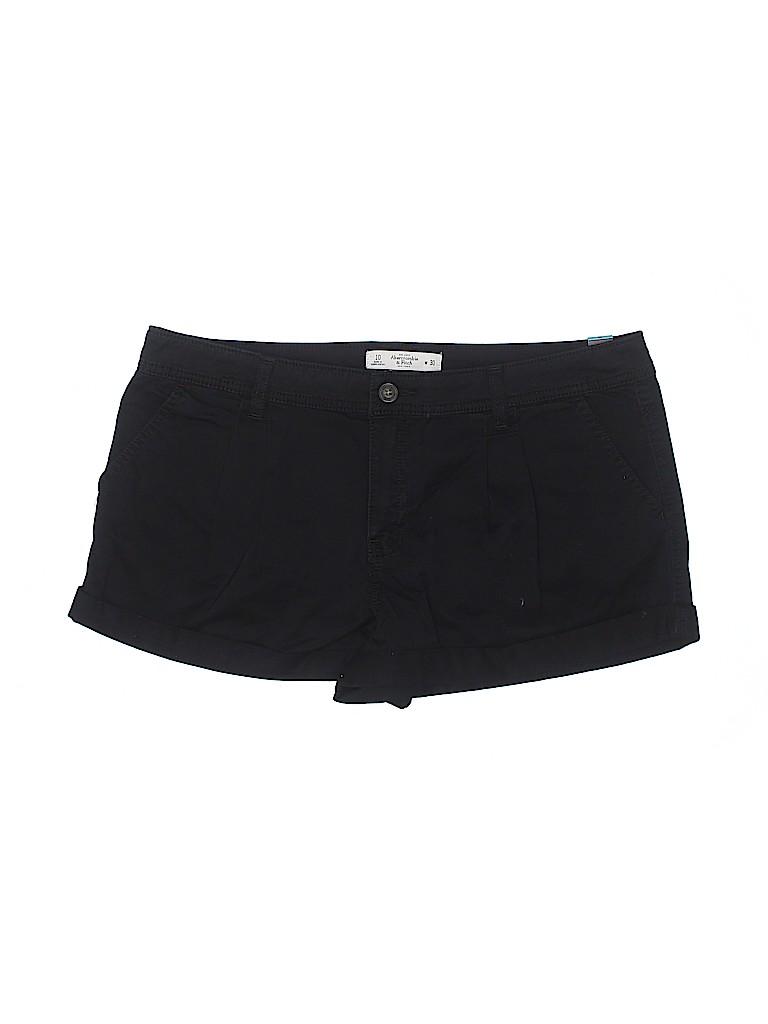 Abercrombie & Fitch Women Khaki Shorts 30 Waist