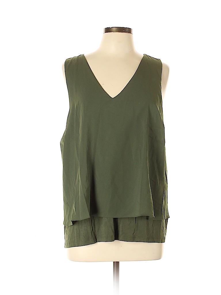 Bar III Women Sleeveless Blouse Size XL